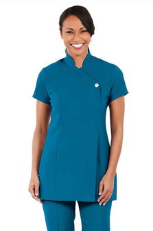 One button tunic black fd3130 for Spa uniform policy