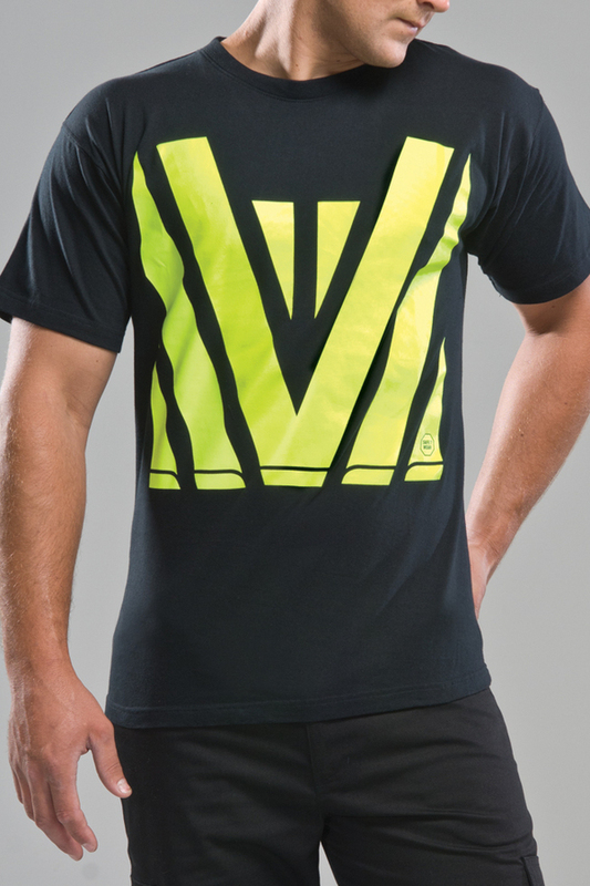 Hi vis classic t shirt n130 for T shirt printing website